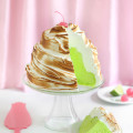 Lime Souffle with Toasted Meringue